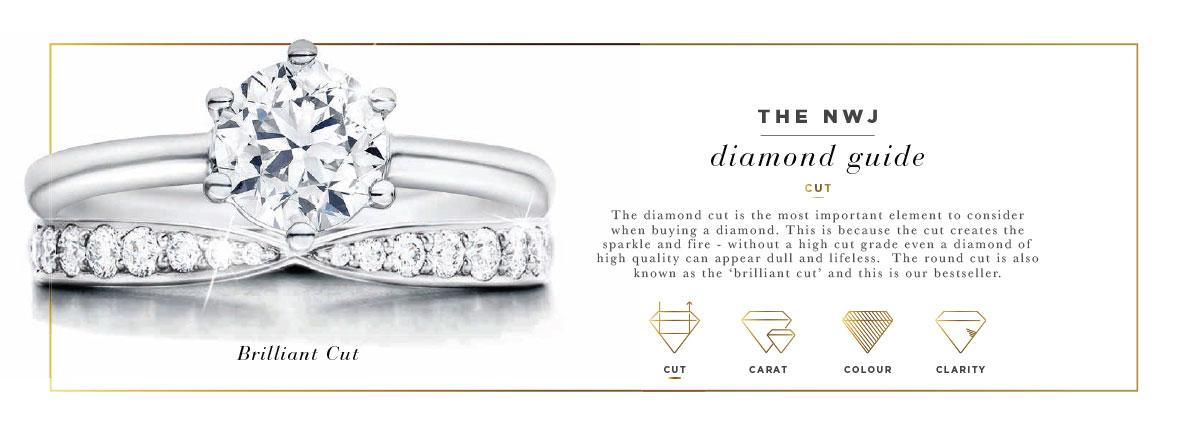 Nwj Fine Jewellery Gold Diamond Silver Rings Earings