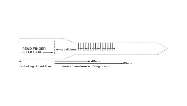 Ring Size Guide Nwj