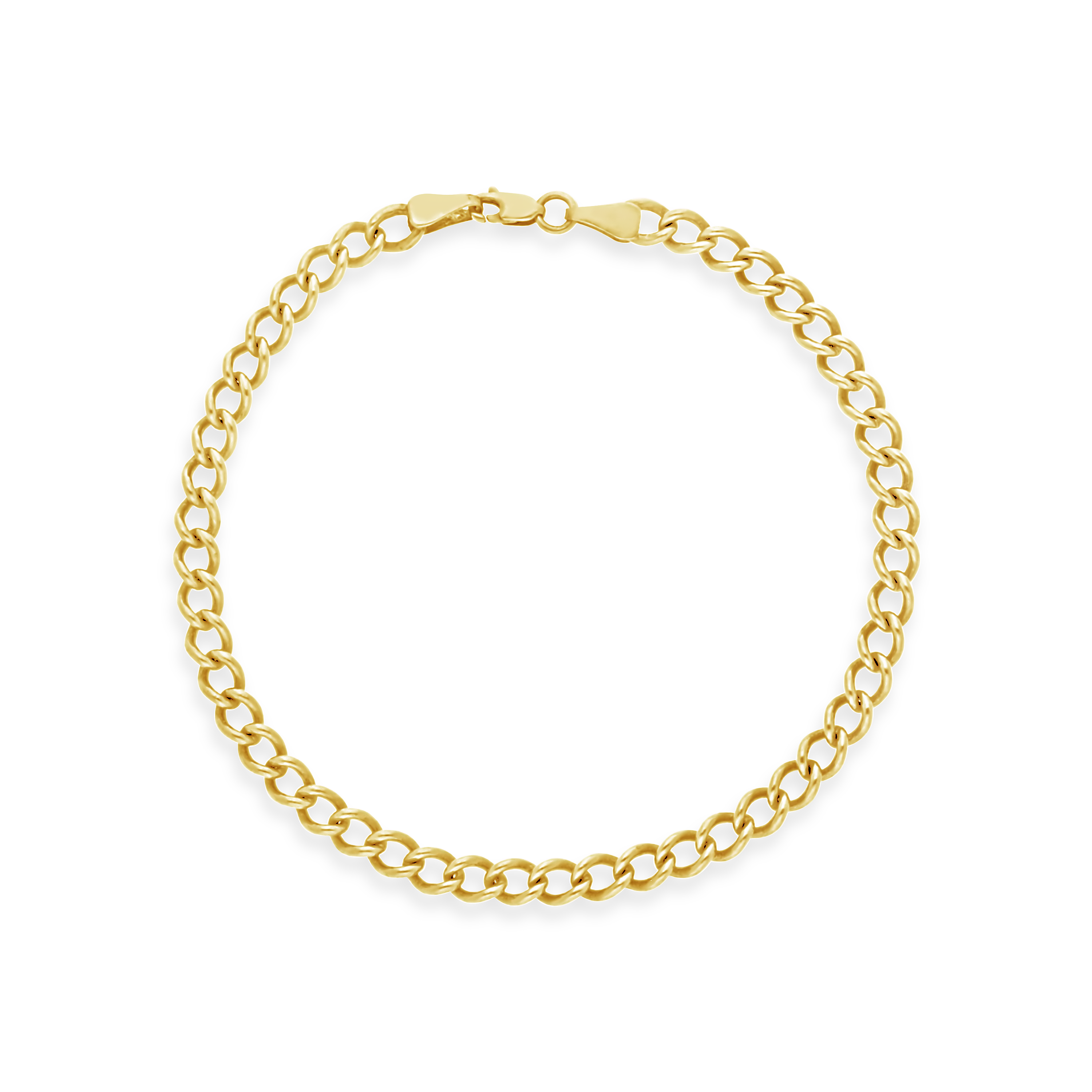 612fc4e8d096 9ct Gold 19cm Bracelet for Charms - NWJ