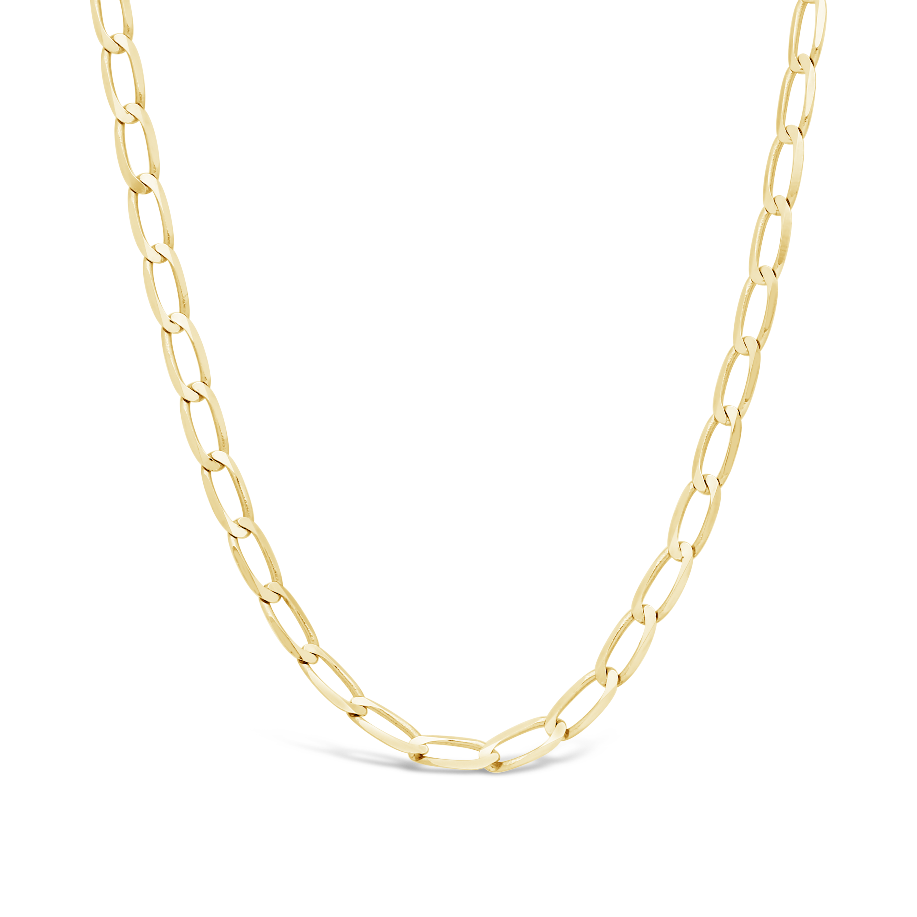 a144882c12b7 9ct Gold 50cm Long Curb Link Chain - NWJ