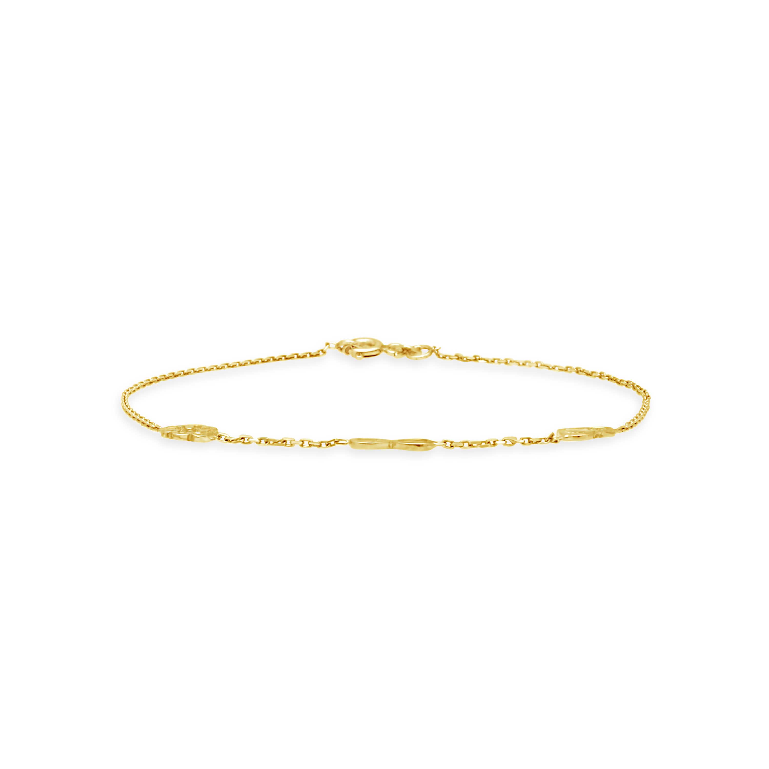 8c4884529206 9ct Gold 19cm Heart