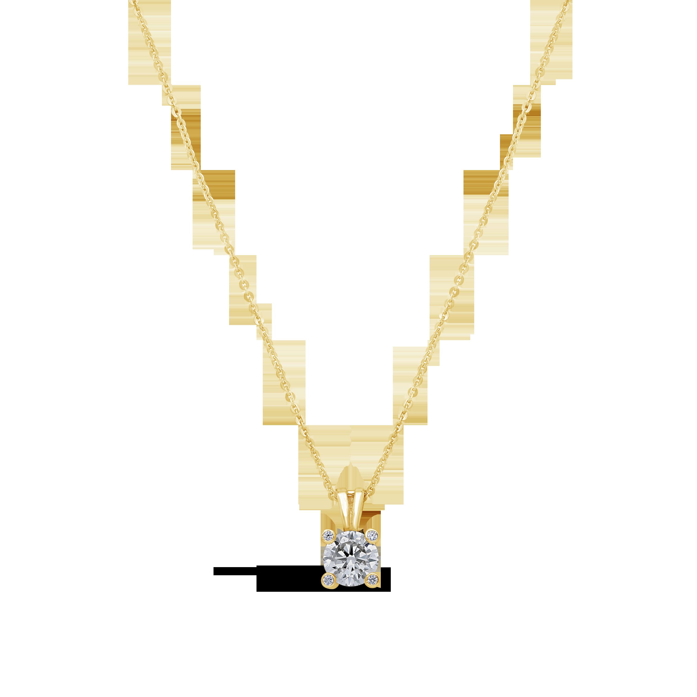 9df93447ef1b 9ct Gold Cubic Zirconia Pendant - NWJ