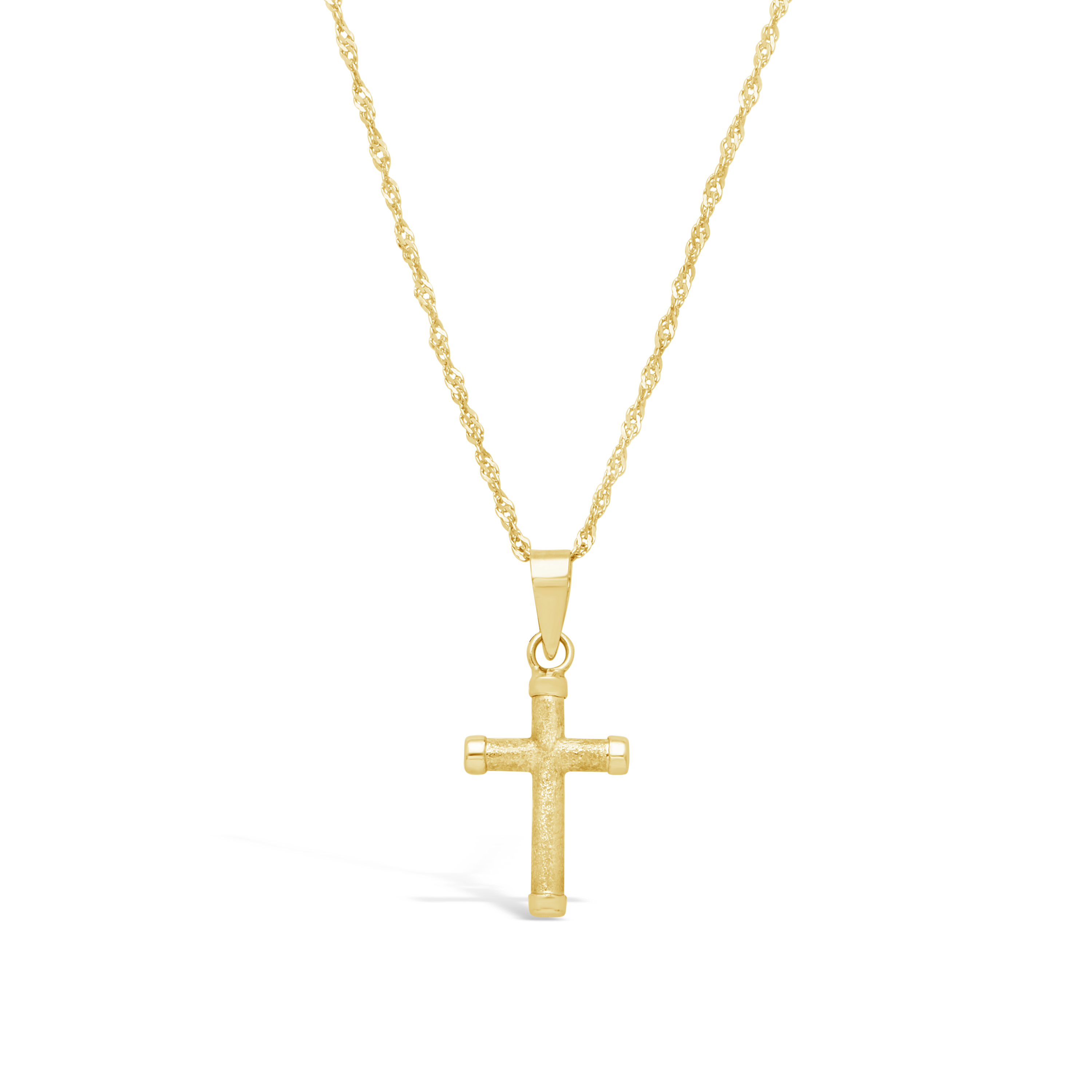 4ca15926831a 9ct Gold Cross Pendant - NWJ